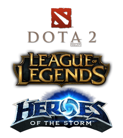 The ''Big Three'' MOBAs - DoTA2, League of Legends & Heroes of the Storm