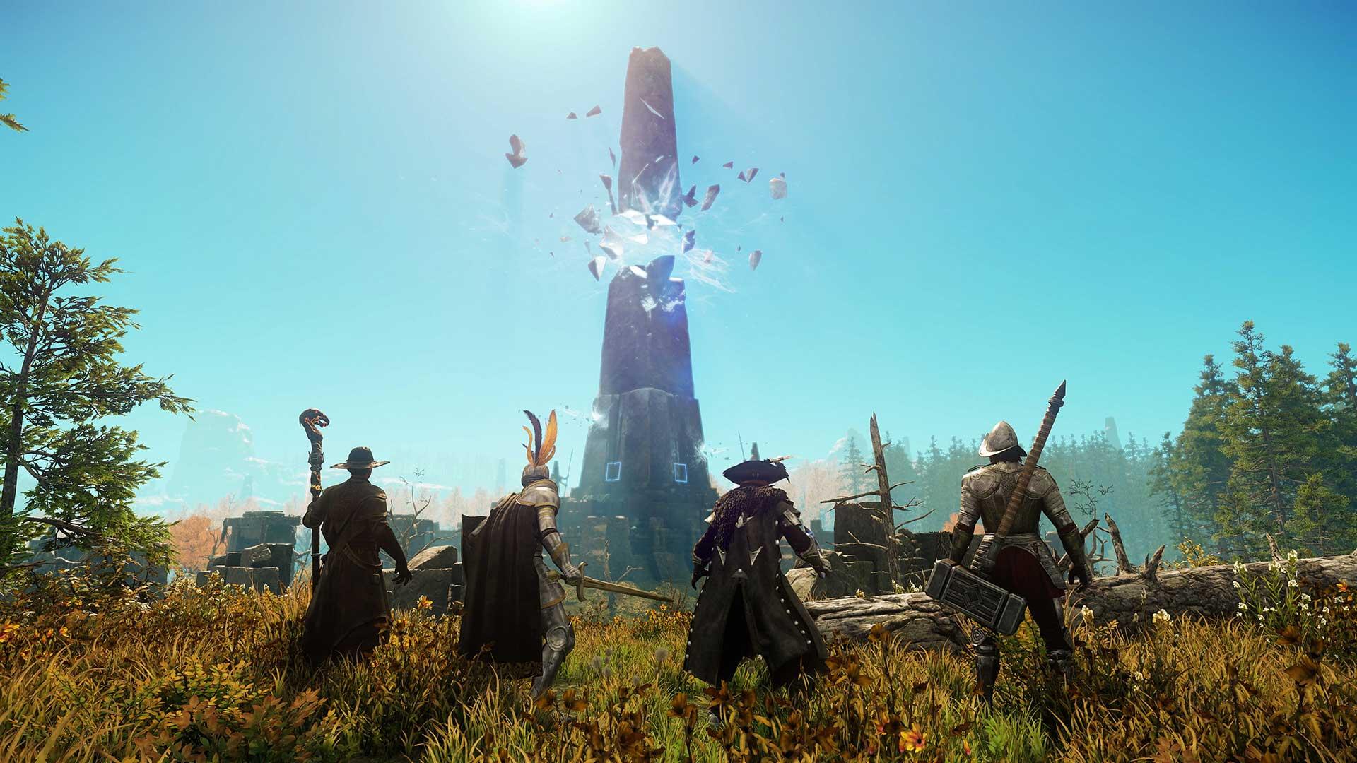 Shattered Obelisk in New World